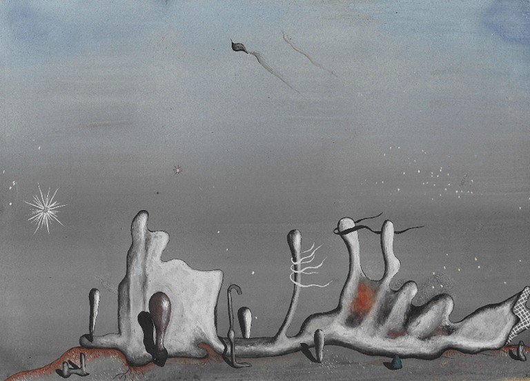 Yves Tanguy – Aupres des Sables (1936).jpg