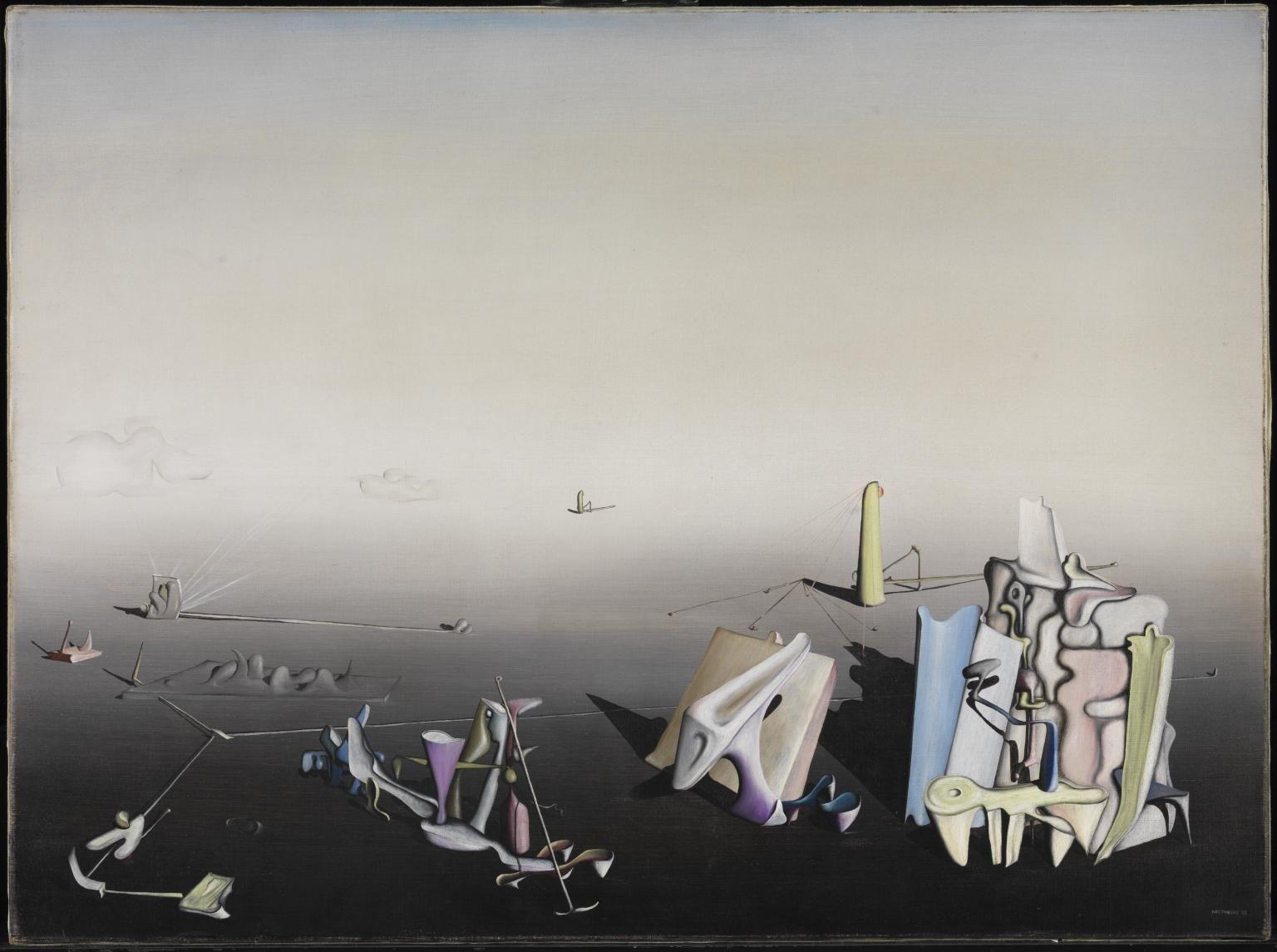 Yves Tanguy Azure day 1937.jpg