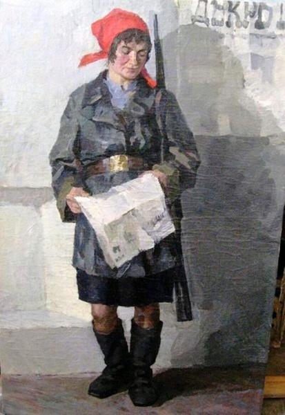 Божий Михаил Михайлович. Декрет о мире, 1955.jpg