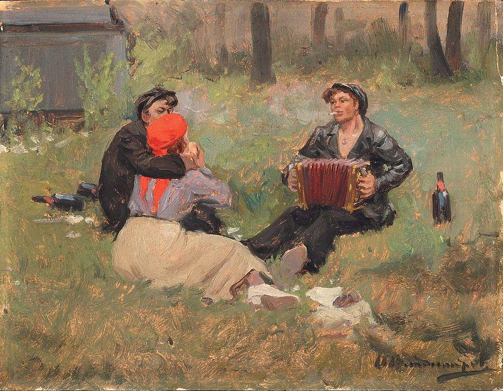Владимиров Иван. Festivities 1920s.jpg