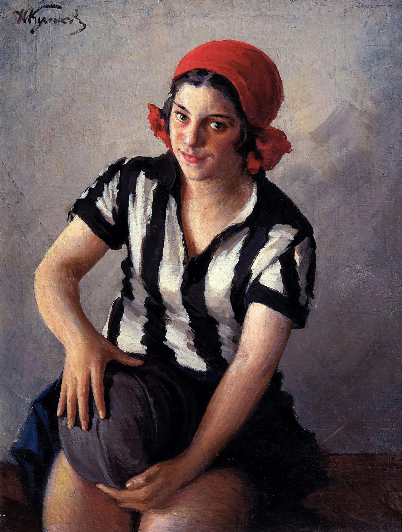 Куликов Иван Семёнович. Физкультурница. 1929.jpg