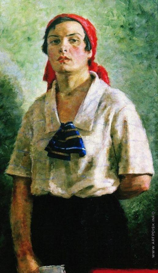Ряжский Г. Г. Делегатка 1927.jpg