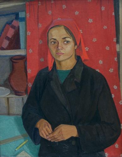 Соколенко Алексей Егорович. Комсомолка 20-х годов. 1968.jpg