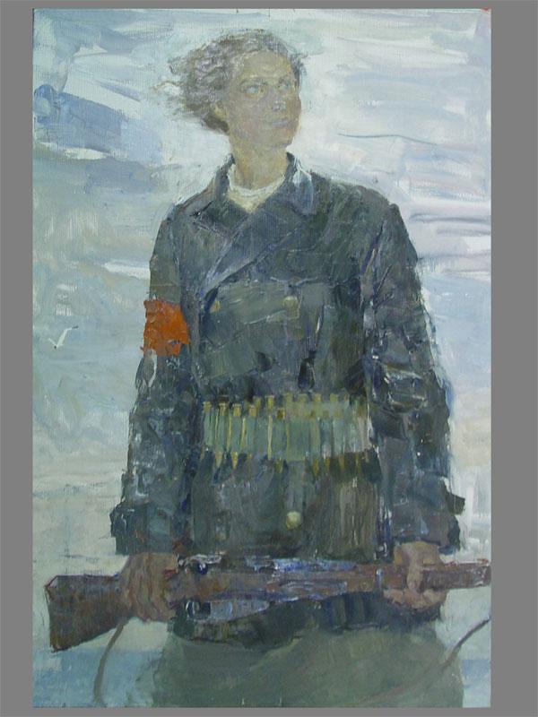 Фомин В. Портрет Ларисы Рейснер, 1960 akcia-antique ru.jpg