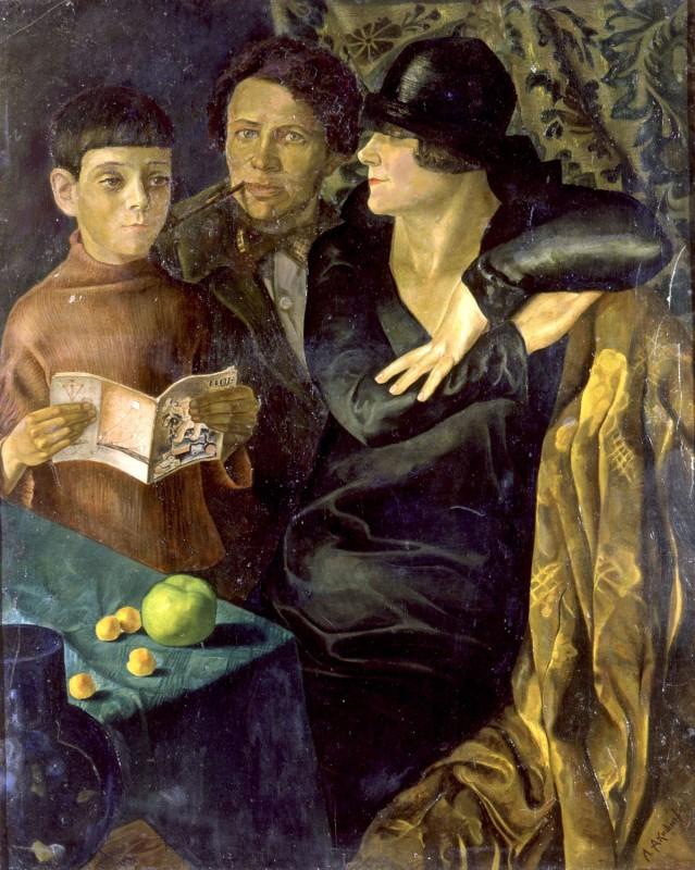 Леонид Акишин. Семейный портрет, 1931 год..jpg