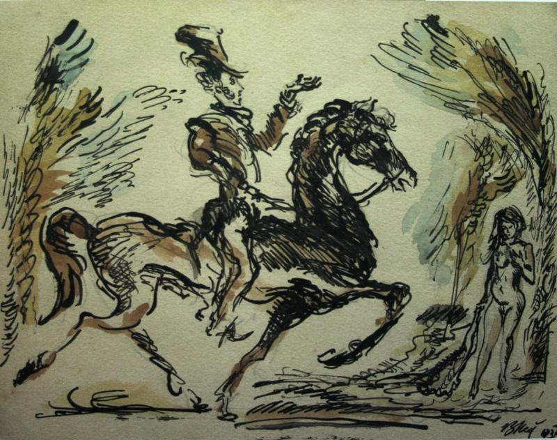 Валентин Юстицкий «А.С.Пушкин и обнаженная» 1937.jpg