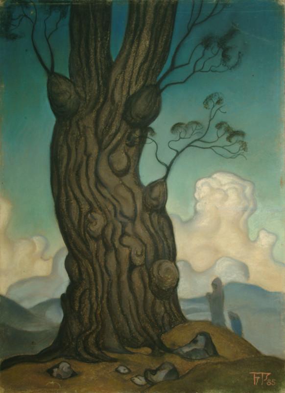 Б.Смирнов-Русецкий. Дерево жизни, 1985, к.п., 70х50.jpg