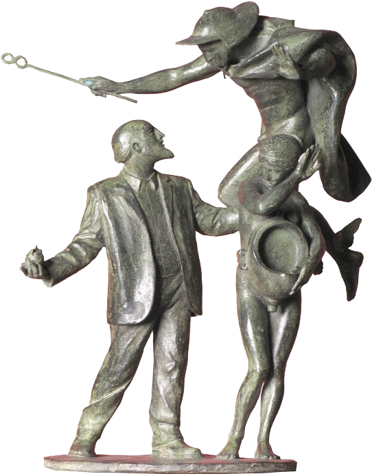 Hermes protector del Dadaísmo, 2008.jpg