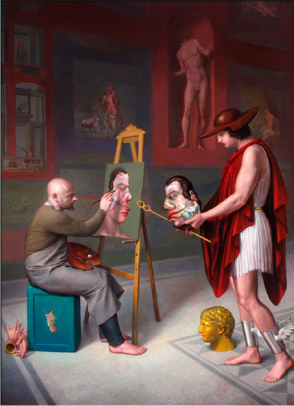 Hermes, promotor de Francis Bacon, 2009.jpg