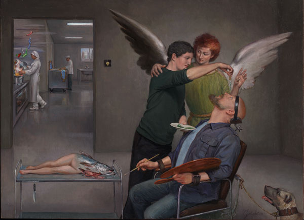 La curación de Tobit o el Surrealismo intraocular, 2013.jpg