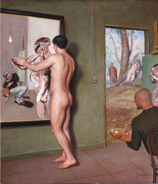 Narciso ante el espejo Francis Bacon, 2008.jpg