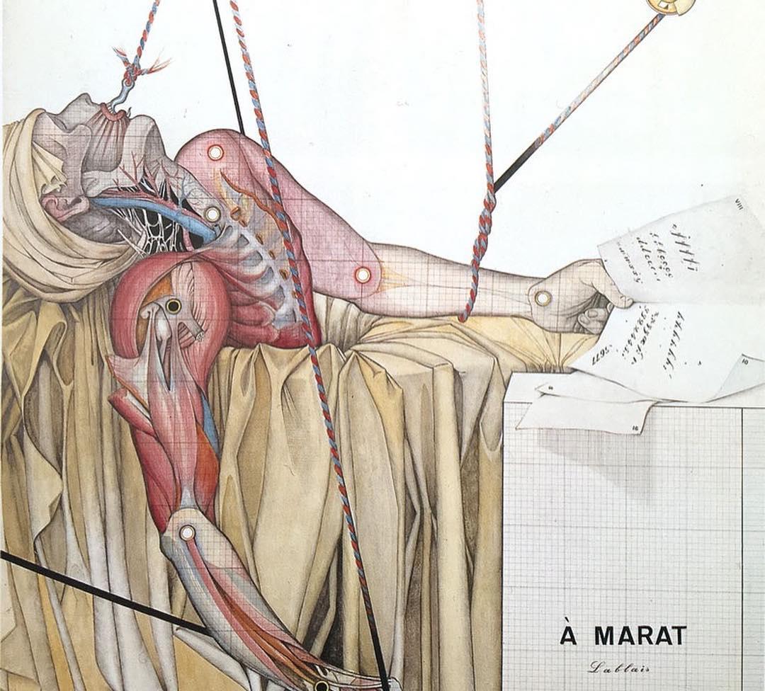 À Marat Michel Lablais 1972 Musée des abattoirs de Toulouse.jpg