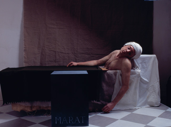 Gavin Turk, The Death of Marat.jpg
