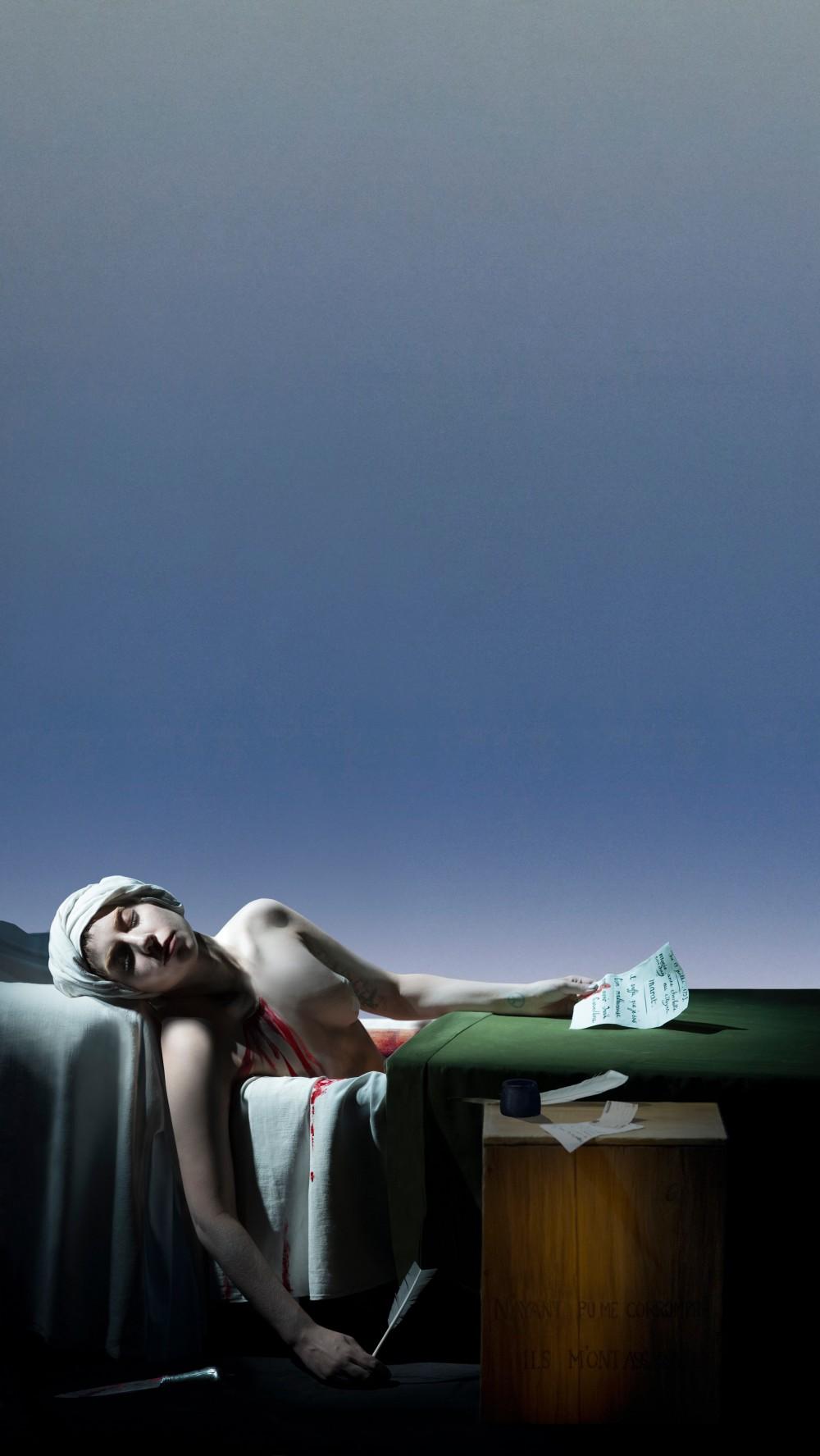 La Mort De Marat by Robert Wilson.jpg