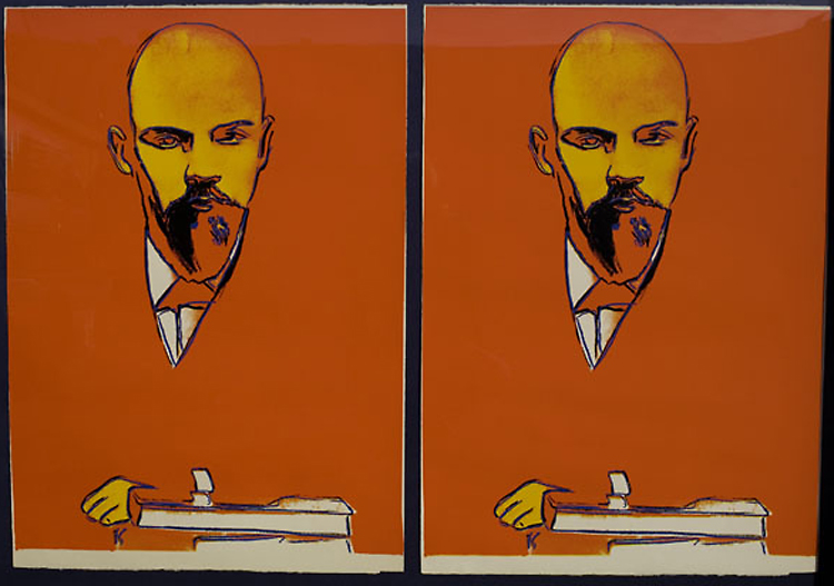 ANDY WARHOL. Red Lenin.jpg