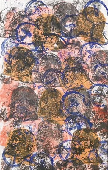 Arman. SANS TITRE (PORTRAITS DE LENINE), 1990.Jpeg