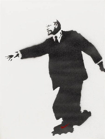 Banksy. Lenin on Rollerskates, 2003.Jpeg