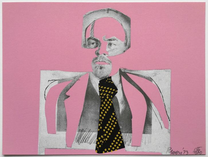 Larry Rivers. Lenin with tie 1973.JPG