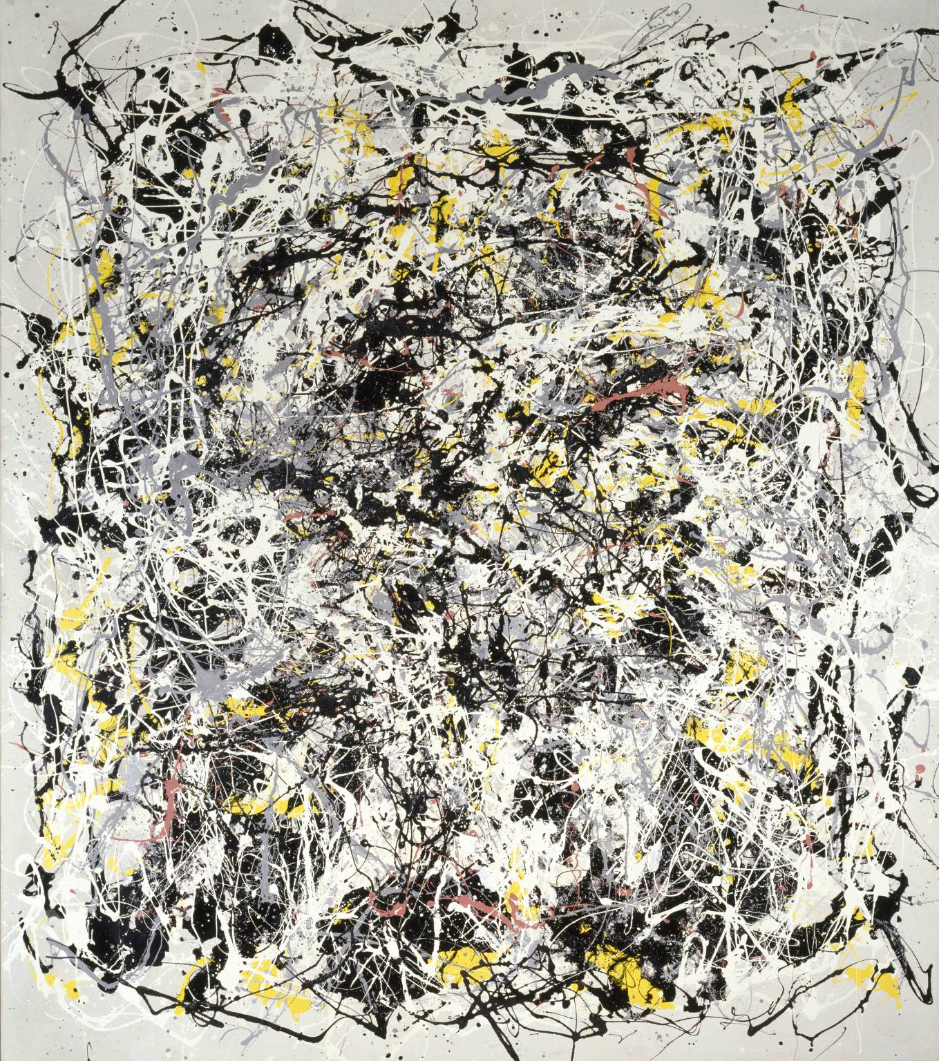 Portrait of V.I. Lenin with Cap, in the Style of Jackson Pollock III 1980 by Michael Baldwin and Mel Ramsden (Tate).jpg