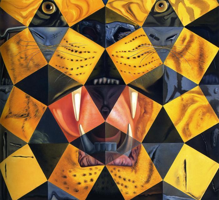 Salvador Dali-Lenin Tiger 1963..jpg