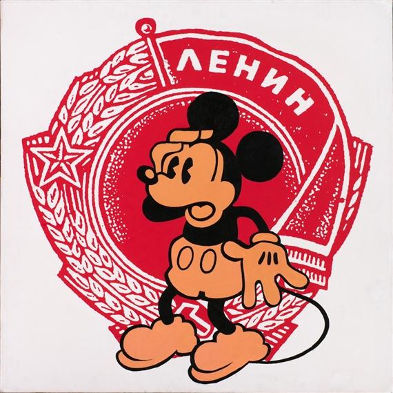 Alexander Kosolapov. Lenin. 1989.Jpeg
