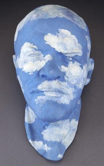 Leonid Sokov. Lenin - Magritte, 1995.Jpeg