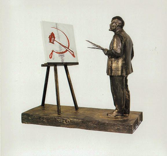 Leonid Sokov. Lenin-painter. 1994.jpg