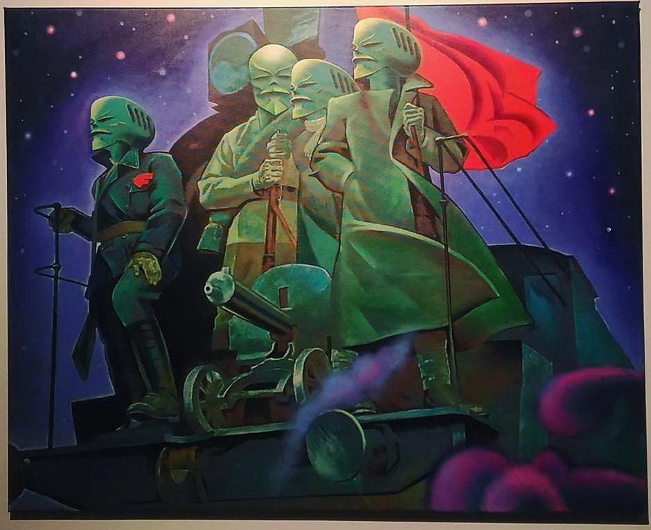 Александр Савко «Паровоз вперед летит», 2016.jpg