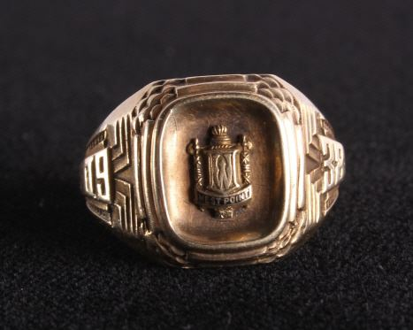 US West Point 1938 Graduation 10k Gold Ring ....jpg