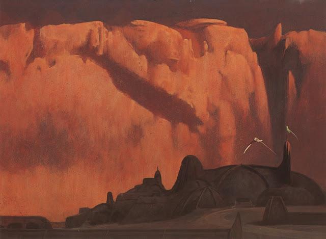 Иллюстрации к Дюне, которые одобрил автор романа 07 DAWN AT THE PALACE OF ARRAKEEN.jpg