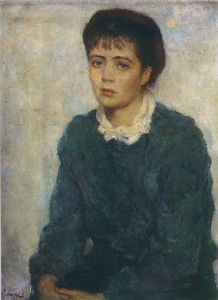 Нина Виноградова-Бенуа - жена художника. (1955)..jpg