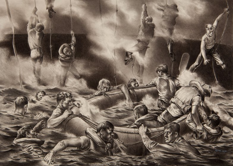Ковбой-художник, который проплыл 100 тыс. км на эсминце во Вторую Мировую