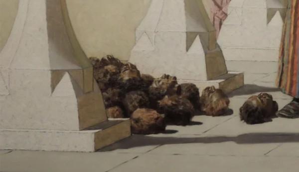 Верещагин и мёртвые головы