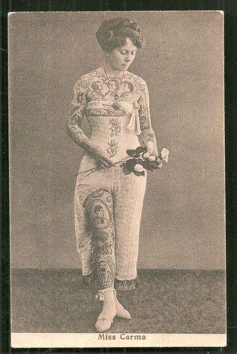 Жена татуировщика, 1905 год. И другие удивительные фотографии. 2ebec5c4a7b11593805e3c2e9b382111.jpg