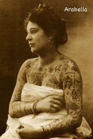 Жена татуировщика, 1905 год. И другие удивительные фотографии. 4fa311f5b11371d3f42422061a3c6c1e.jpg