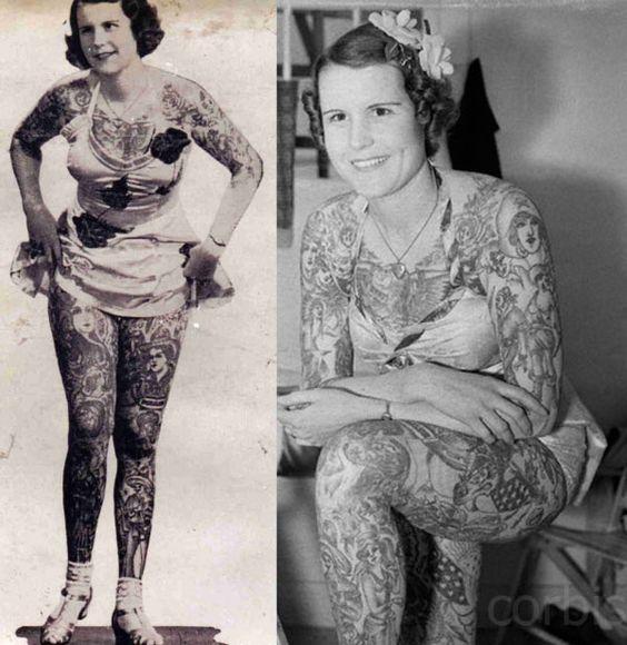 Жена татуировщика, 1905 год. И другие удивительные фотографии. 8bb2b90d19a93a237782f87bf512530e.jpg