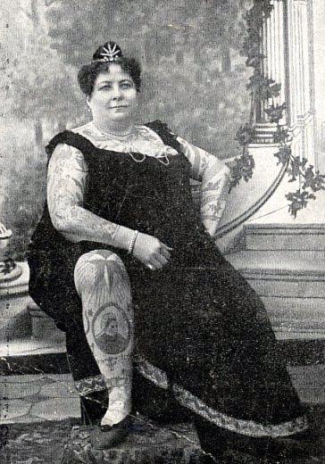 Жена татуировщика, 1905 год. И другие удивительные фотографии. 8e115c034540d850b37562d5d2b9cff3.jpg