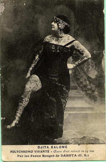Жена татуировщика, 1905 год. И другие удивительные фотографии. 11edcb9938d578e9d17f65442078c3e7.jpg