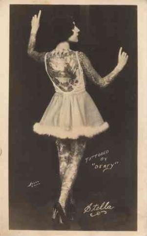 Жена татуировщика, 1905 год. И другие удивительные фотографии. 513be4e81b31b67dff8b597d5c2ba0a0.jpg