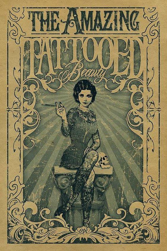 Жена татуировщика, 1905 год. И другие удивительные фотографии. 528c7cf9f2059c8e54c79d7accc437f4.jpg