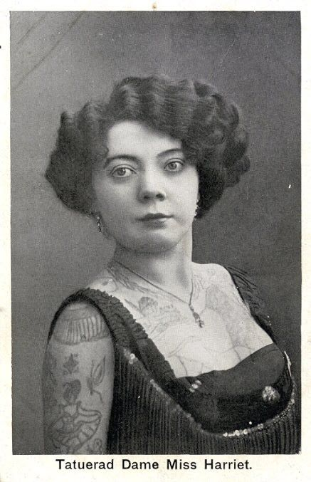 Жена татуировщика, 1905 год. И другие удивительные фотографии. 0782fc82ee4288932561fcb162ec9ce7.jpg