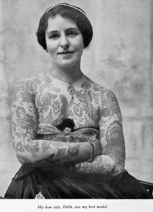 Жена татуировщика, 1905 год. И другие удивительные фотографии. f11010853d6f80da9f0ebcf48012a975.jpg