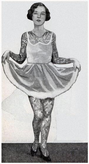Жена татуировщика, 1905 год. И другие удивительные фотографии. Revive1.jpg