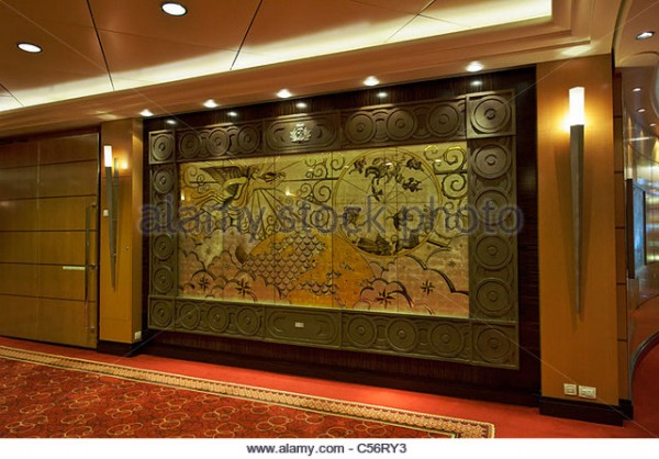 painting-of-aurora-borealis-in-the-corridor-leading-to-the-grand-lobby-c56ry3.jpg