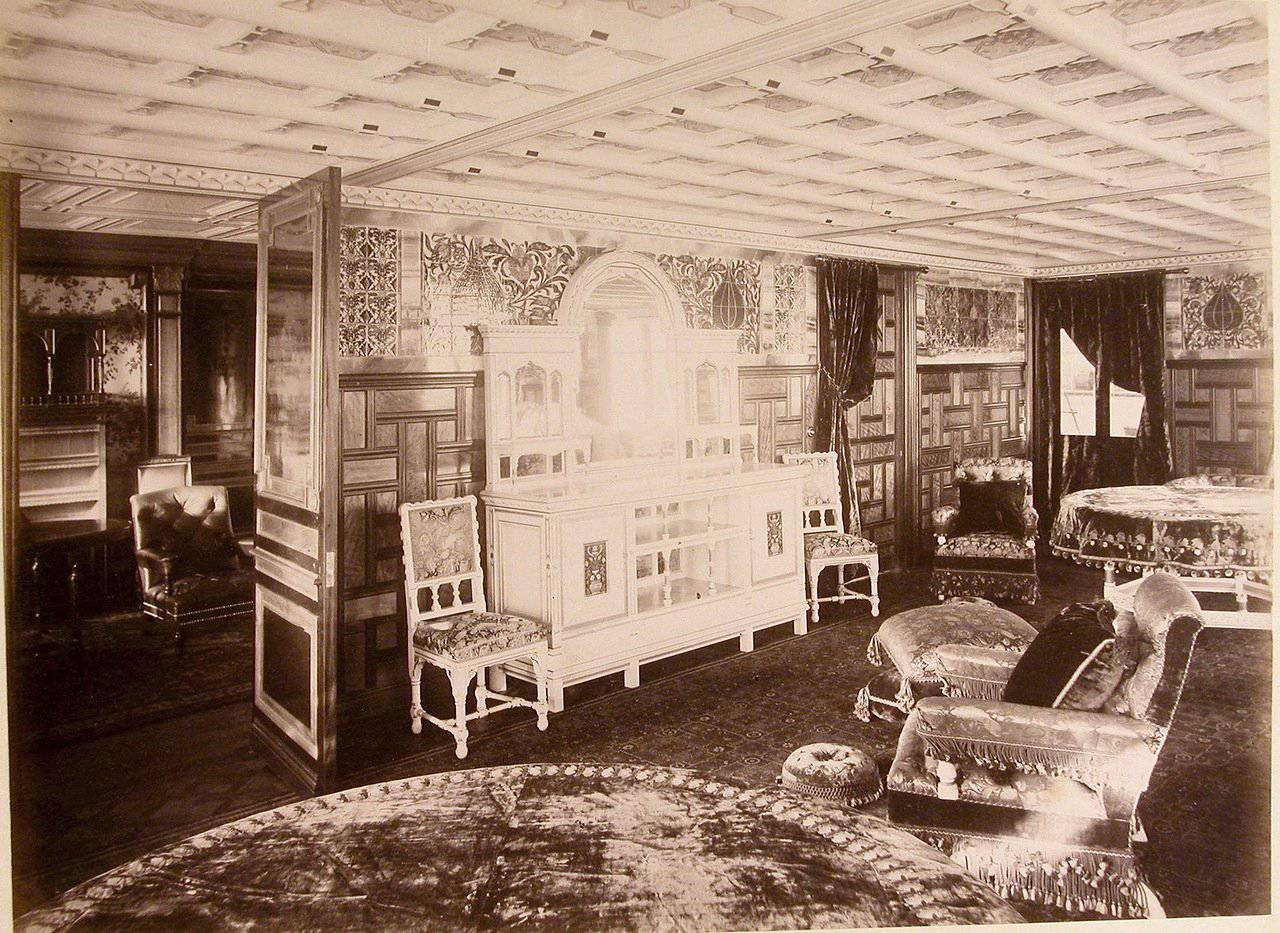 Livadia. drawing room with de Morgan tiles.jpg