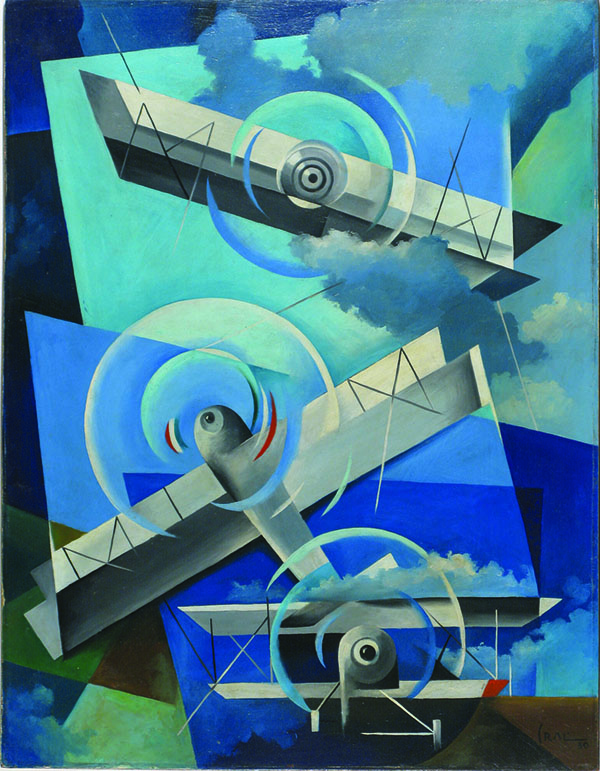 Tullio Crali. Acrobazie in cielo (1932).jpg