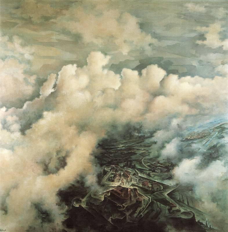 Veduta aerea del castello di Gorizia (1936).jpg