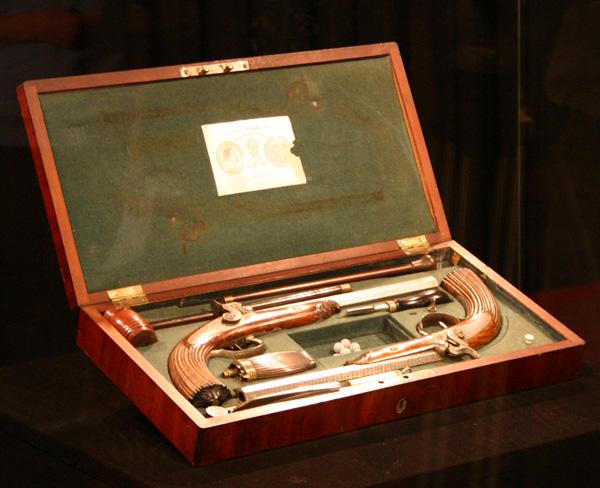 Пистолеты Лепажа, принадлежавшие А.С. Пушкину. Музей А.С. Пушкина.jpg