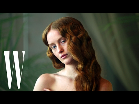 India Salvor Menuez Brings Botticelli's The Birth of Venus To Life  W Magazine.jpg