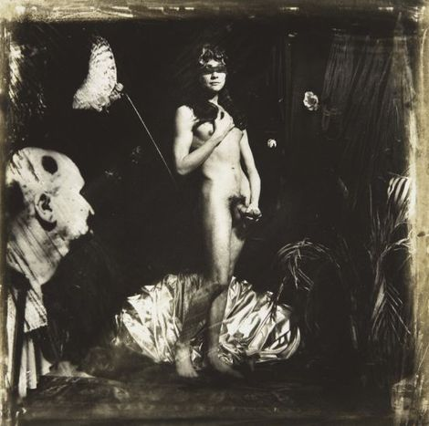 Joel-Peter Witkin, Birth of VenusBotticelli's Venus, NYC, 1982.jpg